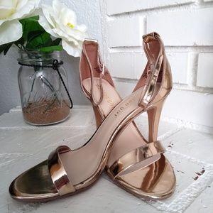 Madden Girl Rose Gold high Heels